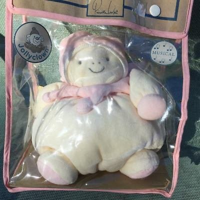 Baby Musical soft toy by Jolly Clowns - Pink