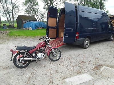 Motorcycle collection & delivery in UK.