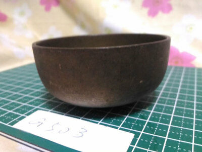 """2.972"""" Japanese Vintage Buddhist Bell Gong Rin G503 Good Sound"""