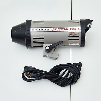 Elinchrom 1500 S Flash Head - If You Need Lots Power This Is For You!!!