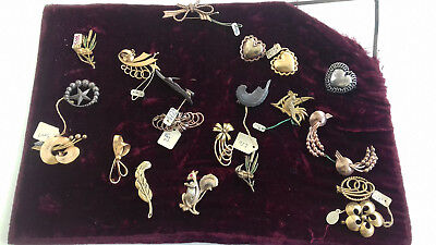 Lot Bijoux Anciens Broches 1920/1930