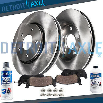 2002-2007 Rendezvous Rear HartBrakes Replacement Brake Rotors and Ceramic Pads