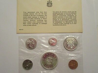 1964 Royal Canadian Mint Proof-Like 6 coin set, 80% silver