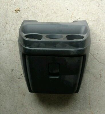 Chevy Van/box Truck Center Console Drink Tray With Glove Box Front Drawer