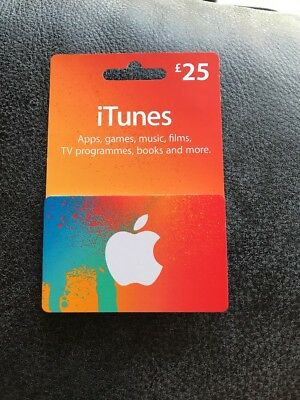 iTunes Gift Card £25