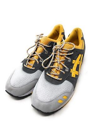 sneakers for cheap f8fc0 ed7f9 ASICS GEL-LYTE 3 Yellow Gray H521N Athletic Running Shoes Men's Size 13