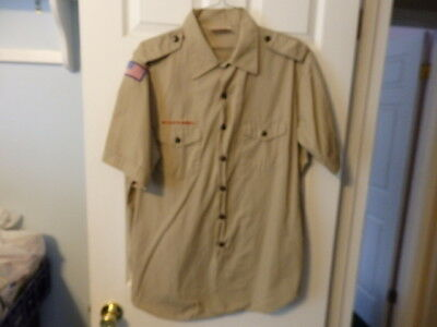 Very nice MENS XLARGE BOY SCOUT SHIRTS   BSA   #89