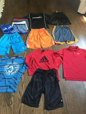 Nike Under Armour Addidas Boys Summer Clothes A Lot Size Medium 10-12