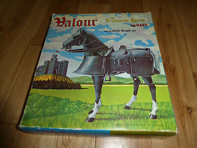 Valour - The Armoured Horse by Marx - Noble Knight Series 1968