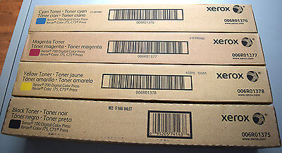 GENUINE XEROX TONER SET - Digital Color 700, J75, C75