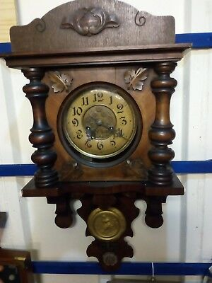 Super Large Black Forrest Wall Clock. Working Order.