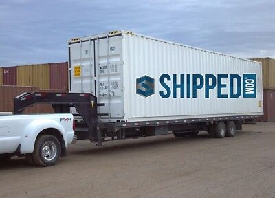 NEW 40 FT HIGH CUBE SHIPPING Container Home STORAGE We DELIVER in CHICAGO, IL
