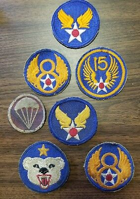 Ww11 Army Patches Lot