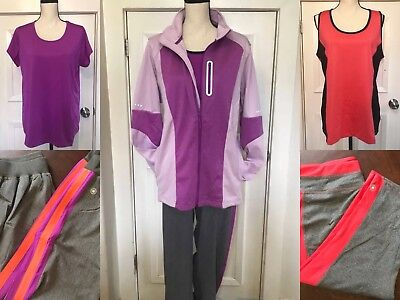 Brand New 22 Piece Plus Size Clothing Lot Athletic Workout (wholesale/resale)