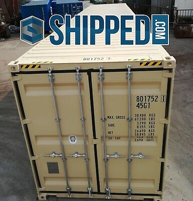 SALE! We DELIVER 40' NEW (One Trip) HIGH CUBE SHIPPING CONTAINER CINCINNATI, OH