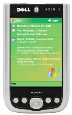 Dell Axim X50v - Win Mobile for Pocket PC 2003 2nd Ed 624 MHz (5061YR)