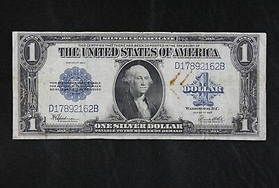 $1 1923 Horse Blanket Large silver certificate D17892162B one dollar FREE SHIP.