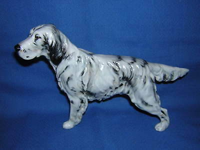 Royal Doulton ENGLISH SETTER Dog Figurine Medium HN 1050