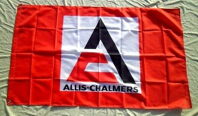 Allis Chalmers Tractor Flag 3' X 5' Polyester USA Flag Banner Man Cave NEW  324