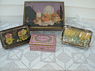 Vintage  Candy Tins-[2] Lofts-[1] Louis Sherry-[1] Canco