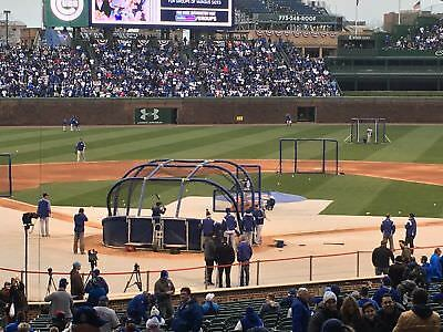 2 Cubs vs Reds tickets 7/6 Home Plate LL Reserved Preferred