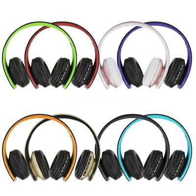 Foldable Fashion Wireless Hi-Fi Bass Bluetooth Headphone Headset FM Radio MP3 TF