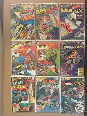 Brave & The Bold Showcase 18 Issue Huge Dc  Comics Silver Age Lot