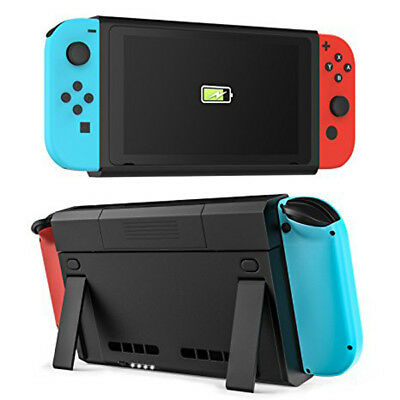 6500mAh Battery  Charging Case Cover Backup Power Extra Bank For Nintendo Switch