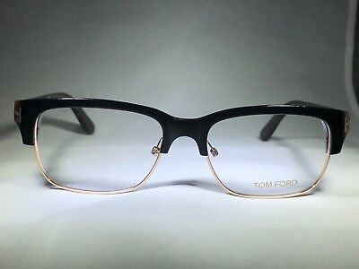 a11aeabf011d0 Authentic Tom Ford Eyeglasses TF5307 005 Black Gold Havana Frames 52MM Rx- ABLE
