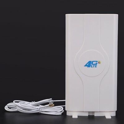 Intérieur Blazing Fast 3G 4G 88dBi LTE MIMO Antenne 700MHz-2600MHz 2M TS-9 Wire