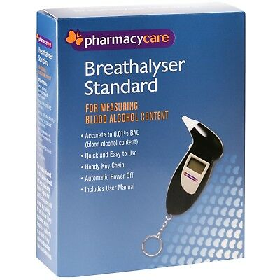 Pharmacy Care BREATHALYSER STANDARD: ACCURATE MEASURE BLOOD ALCOHOL: KEY CHAIN