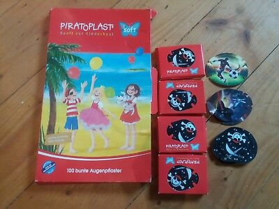 PIRATOPLAST Boy Augenpflaster gross   50 st  44× pirat, 2× fussball, 2×star wars