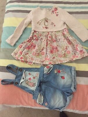 Gorgeous little girls NEXT UK bundle Size 2 in excellent used cond