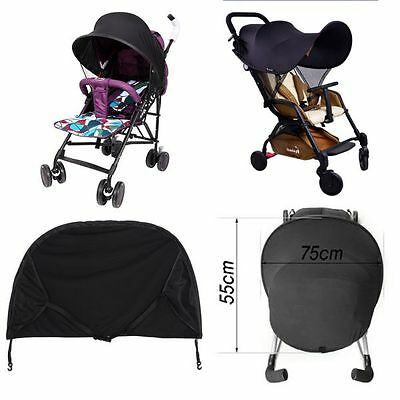 Baby Child Sun Ray Shade Canopy SunShade Parasol for Buggy Stroller Pushchair