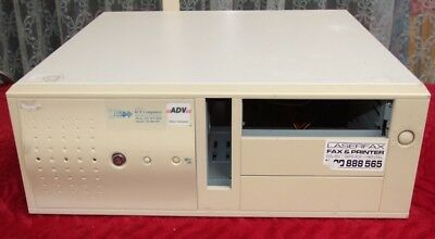 RARE Desktop AT computer case from the 1980s for 286 386 486 early Pentium