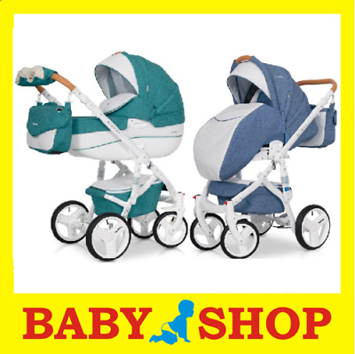 RIKO Brano Luxe 2in1 2018 Stroller Pushchair Sport seat FREE SHIPPING