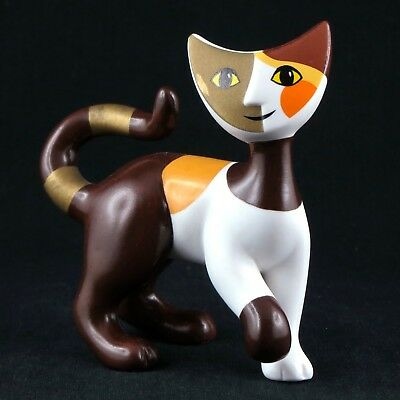 """Porcelaine CHAT """"Ruperto"""" ROSINA WACHTMEISTER by GOEBEL Germany cat figurine..."""
