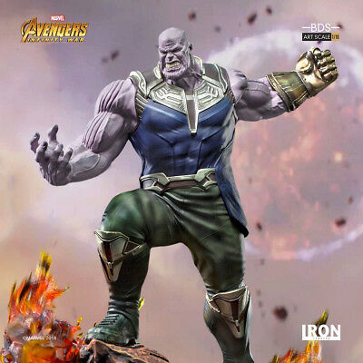 IRON STUDIOS Marvel Thanos BDS Art Scale 1/10 - Avengers: Infinity War Statue