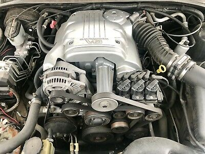 Supercharged V6 Holden Commodore Engine Comes Complete With Automatic Trans