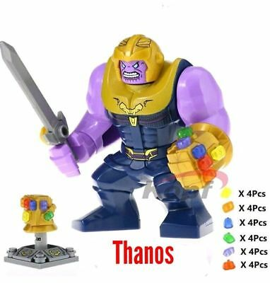 Lego Marvel Super Heroes Avengers Infinity War Thanos 76107 WIth 24 Stones