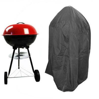 Jardin Housse Barbecue Bâche Couvre BBQ Gas Grill Smoker Protection étanche Rond