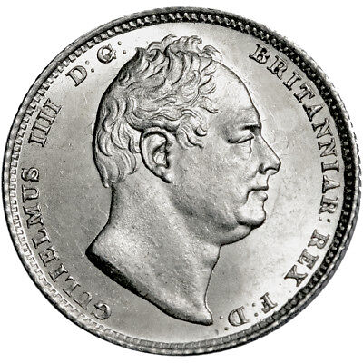 William IV. Sixpence. 1831.   Gem Uncirculated..  8331.