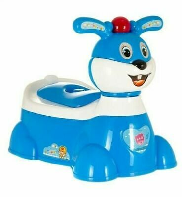 Baby Plastic Toilet Trainer Children Toddler Kid Potty Training Seat Chair Fun