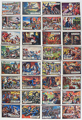 "32 Cartes ""civil War News"" - Norman Saunders - 1965 Ab&c England"