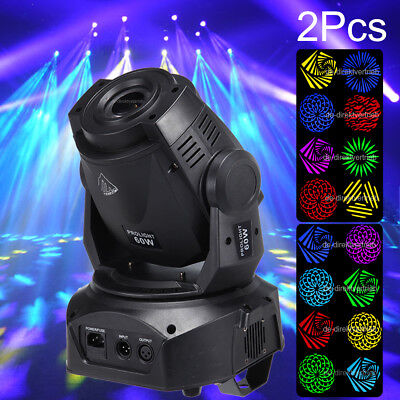 2x 60W 3 Prism LED Moving Head Light  luce luci Faretto effetto Party Stage Show