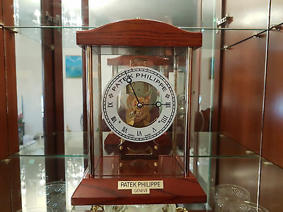 Patek Philippe Dealers Showroom Display Skeleton Clock