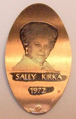 LPE-123: Vintage Elongated cent - SALLY KIRKA (Photograph) 1972