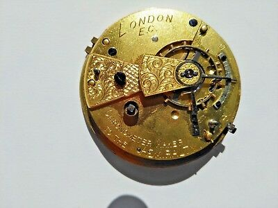 VINTAGE 19th CENTURY WATCH by CHRONOMETER MAKER TO THE ADMIRALITY JOHN FORREST