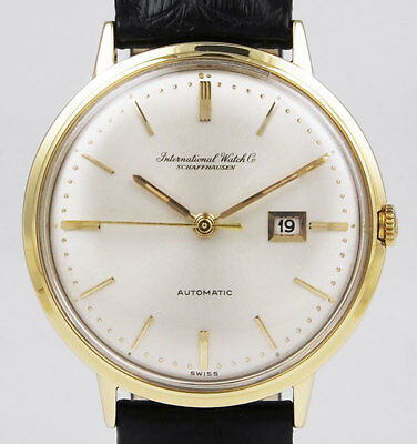 International Watch Company IWC 18K Yellow Gold - Cal. 8531 - Silver Dial (1963)