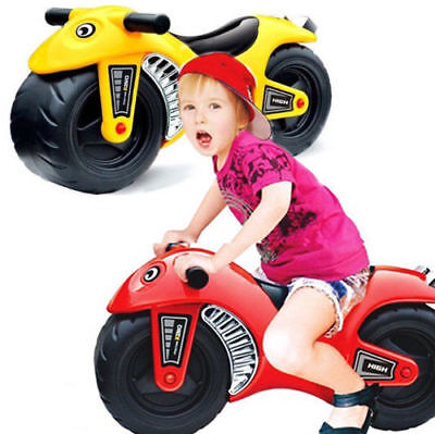 Ride On Bike Foot To Floor Kids Children Toddler Push